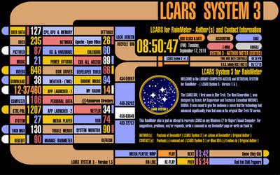 LCARS - System 3 1.5 (beta) by pashaak