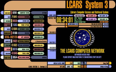 Lcars System 3 Version 2.2 (Final) 5/14/2020 by pashaak