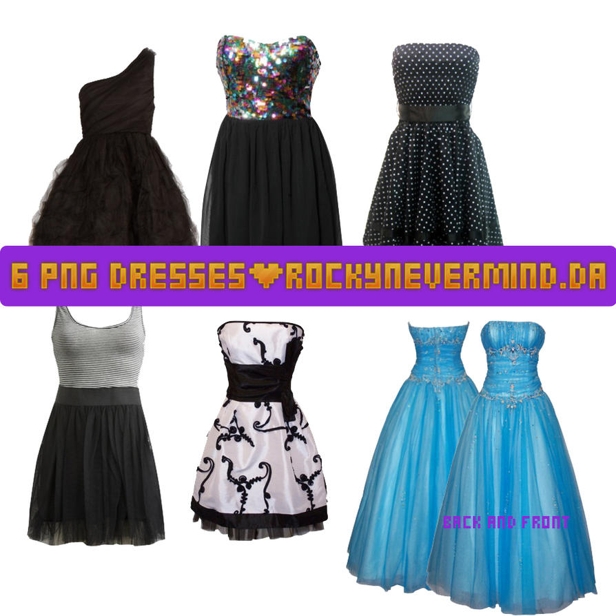 Dresses PNG by RockyNevermind