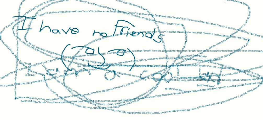 I have no friends by 5xXSparklezXx5