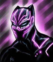 black panther by nic011