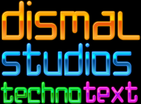 Techno Text Styles by dismal1190