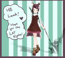 LAT Kiyoko Chie (Merry 17th Lamb birth) +DL by Ekkoberry
