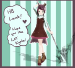 LAT Kiyoko Chie (Merry 17th Lamb birth) +DL