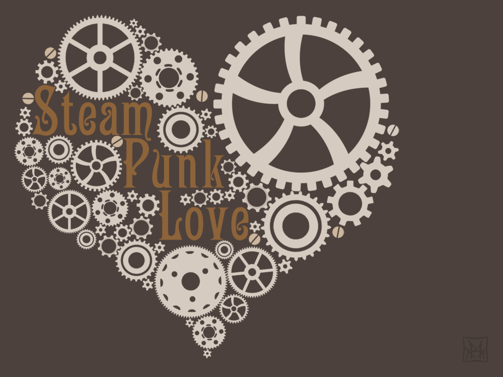 Steampunk Human Heart Steampunk a Week Heart by