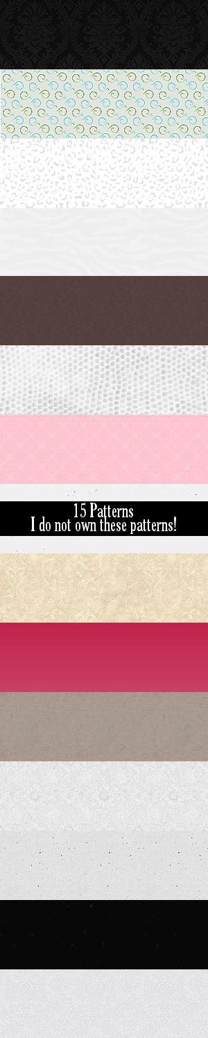 15 Patterns by Defreve