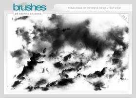 Brushes - Grunge by Defreve