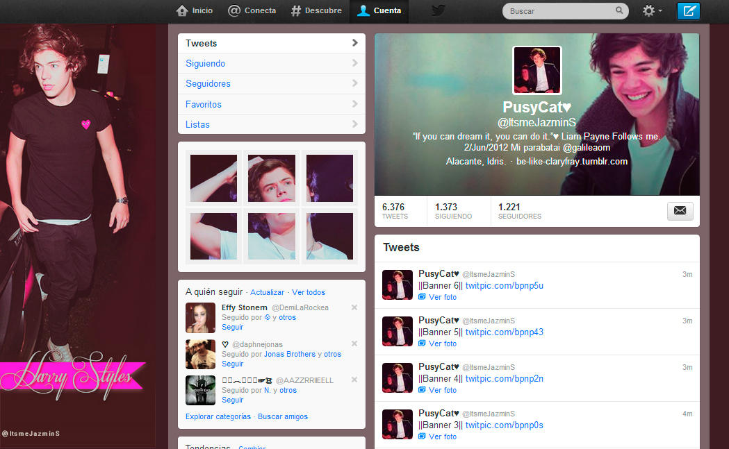 Harry Styles Twitter Pictures Harry Styles Twitter Pack by