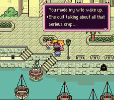 Mild Swearing in Earthbound by TheEuropeanRage