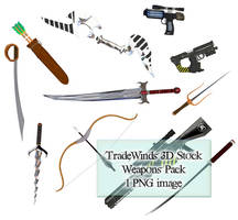 TW3D Weapons Pack by TW3DSTOCK