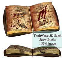 TW3D Scary Book by TW3DSTOCK