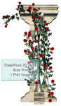 TW3D Rose Vines with post