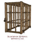 TW3D Wooden Cage