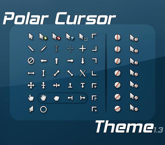 polar cursor theme 1.3 by firstfooter