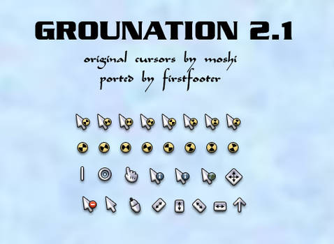 moshi's grounation 2.1