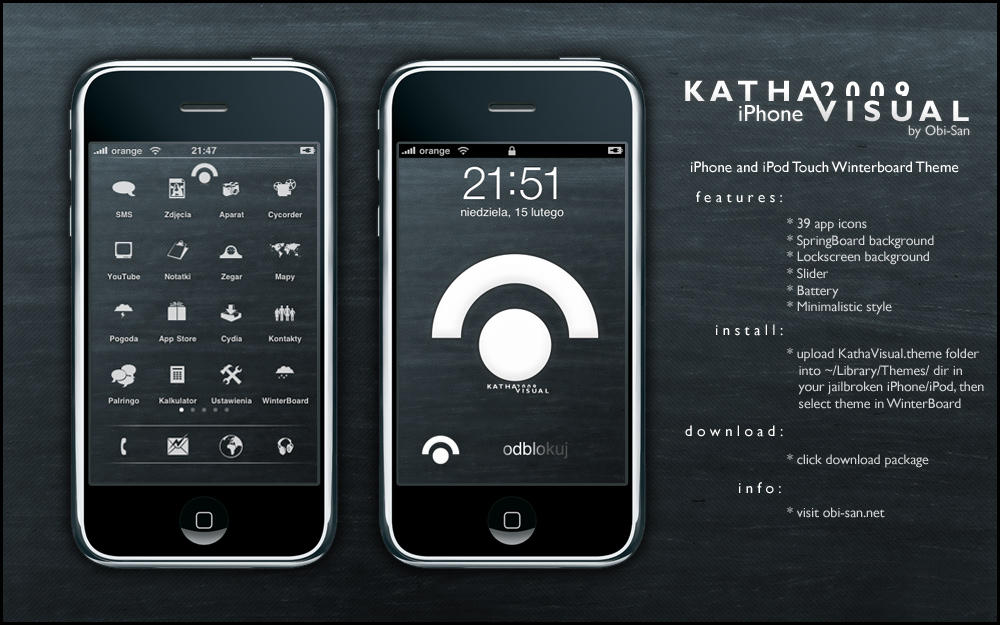 Katha Visual iPhone 2009 by Obi-S4n