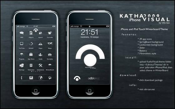 Katha Visual iPhone 2009