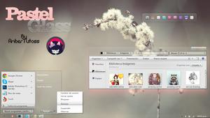 PastelGlass For Windows7! by Waatt