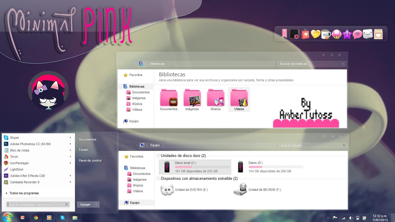 Minimal Pink W7 by Waatt