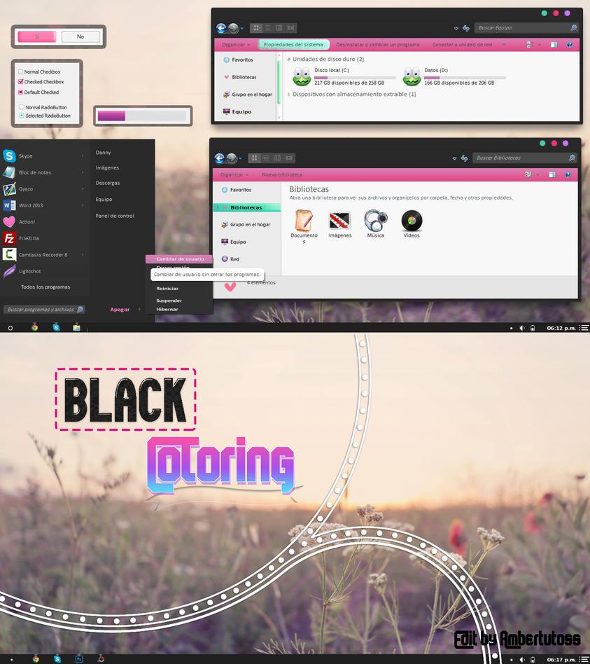 Dark Color theme for Win7
