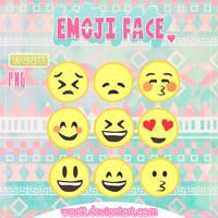 Face Emoji PNG by Waatt