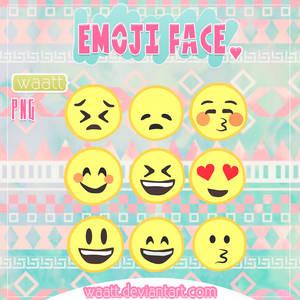 Face Emoji PNG