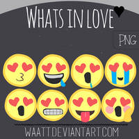 Whats in Love PNG by Waatt