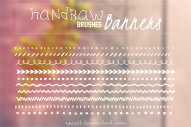 Brushes Handraw Banners by Waatt