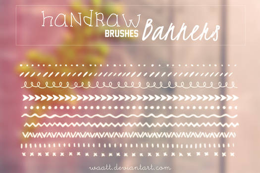 Brushes Handraw Banners