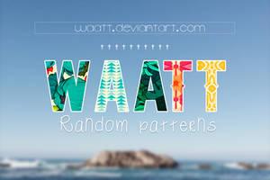 Random Patterns #8 by Waatt