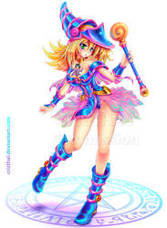 DARK MAGICIAN GIRL-Commission by Crizthal