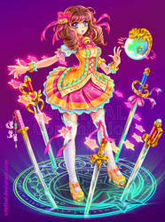 Magical girl - Kelly by Crizthal