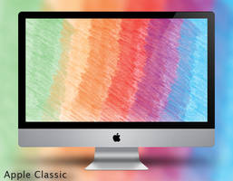 Apple Classic Wallpaper by Vincee095