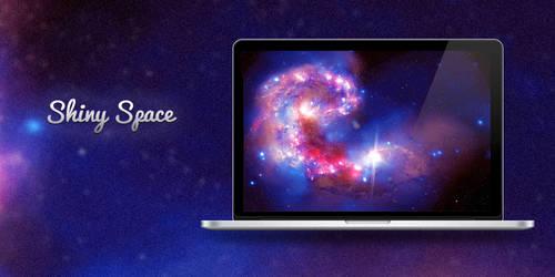 Shiny Space Wallpaper