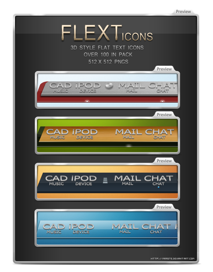 Flext Icons by mrrste