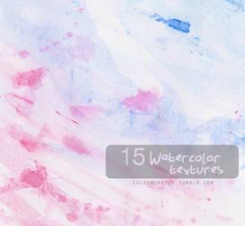 15 Watercolor Textures