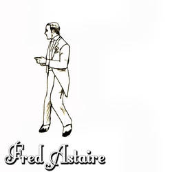 Fred Astaire rotoscope by JEBurton