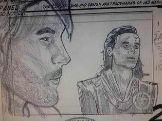 Loki Prince of Mischief Sneak peek by JEBurton