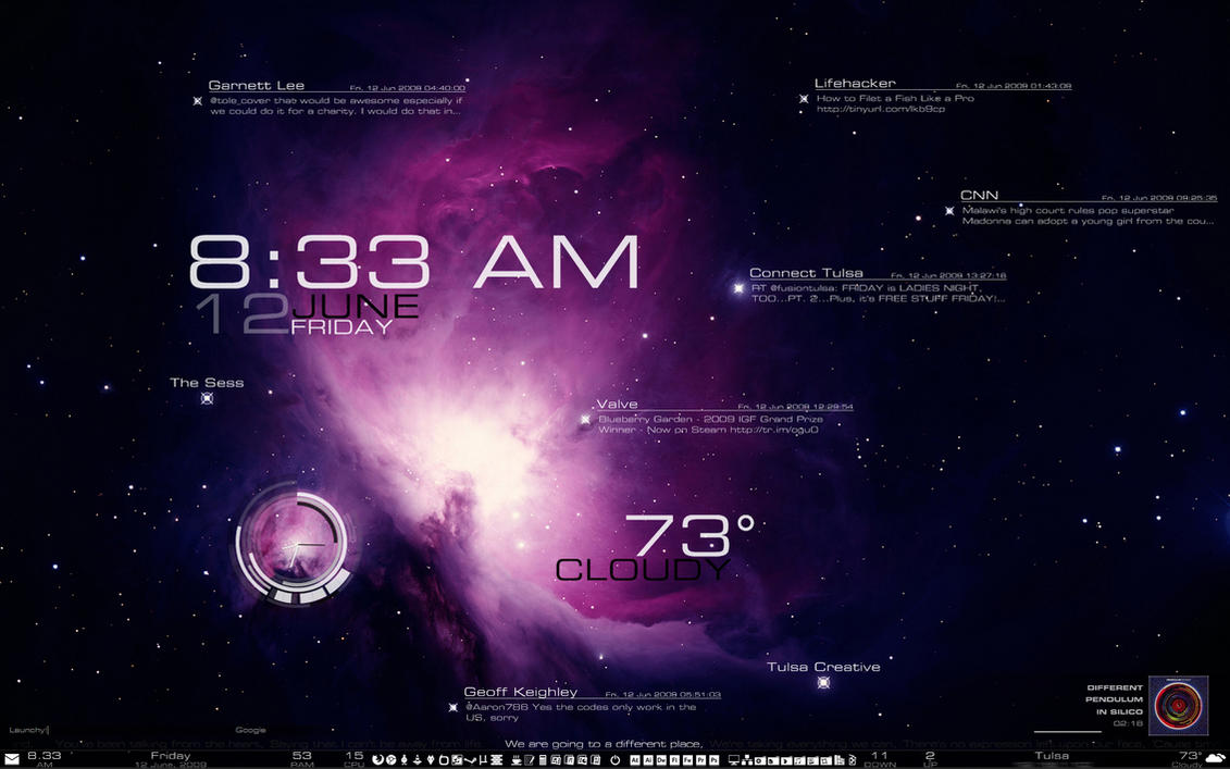 Starlight Desktop by RyKennedyan