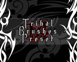 14 Tribal Brushes by hellwala