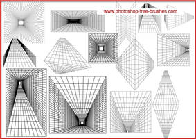 PERSPECTIVE GRID BRUSH