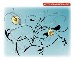 Vector Flower by VELAVAN