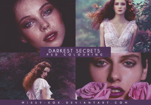 Darkest Secrets   PSD Colouring