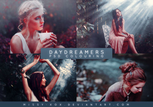 Daydreamers   PSD Colouring