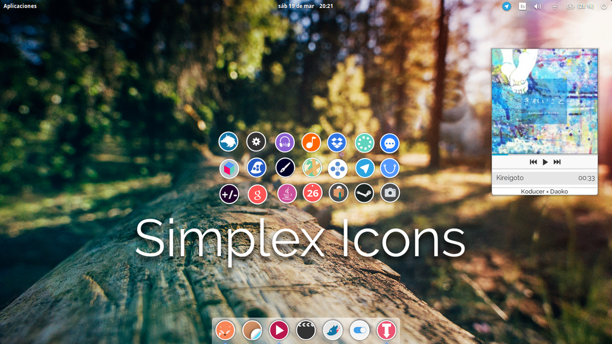Simplex icons v0.2 beta by DannexReloadex