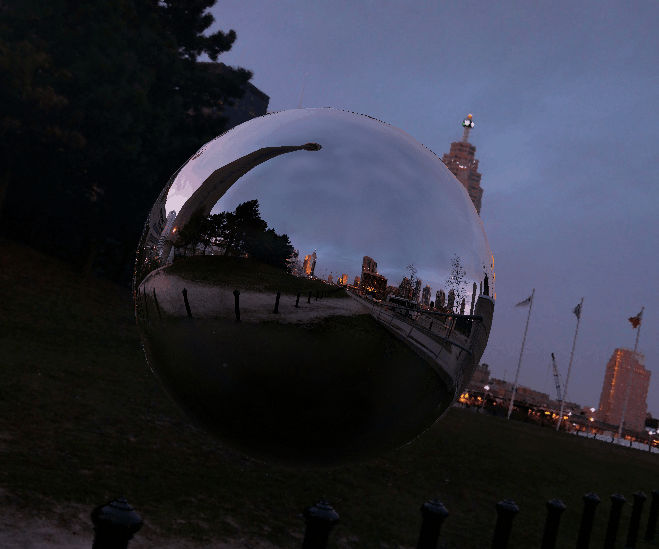 OpenGL Sphere Reflection
