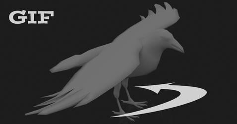 3D Crow Turnaround