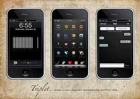 Triplet iPhone Theme SD by quicsilver
