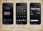 Triplet iPhone Theme SD