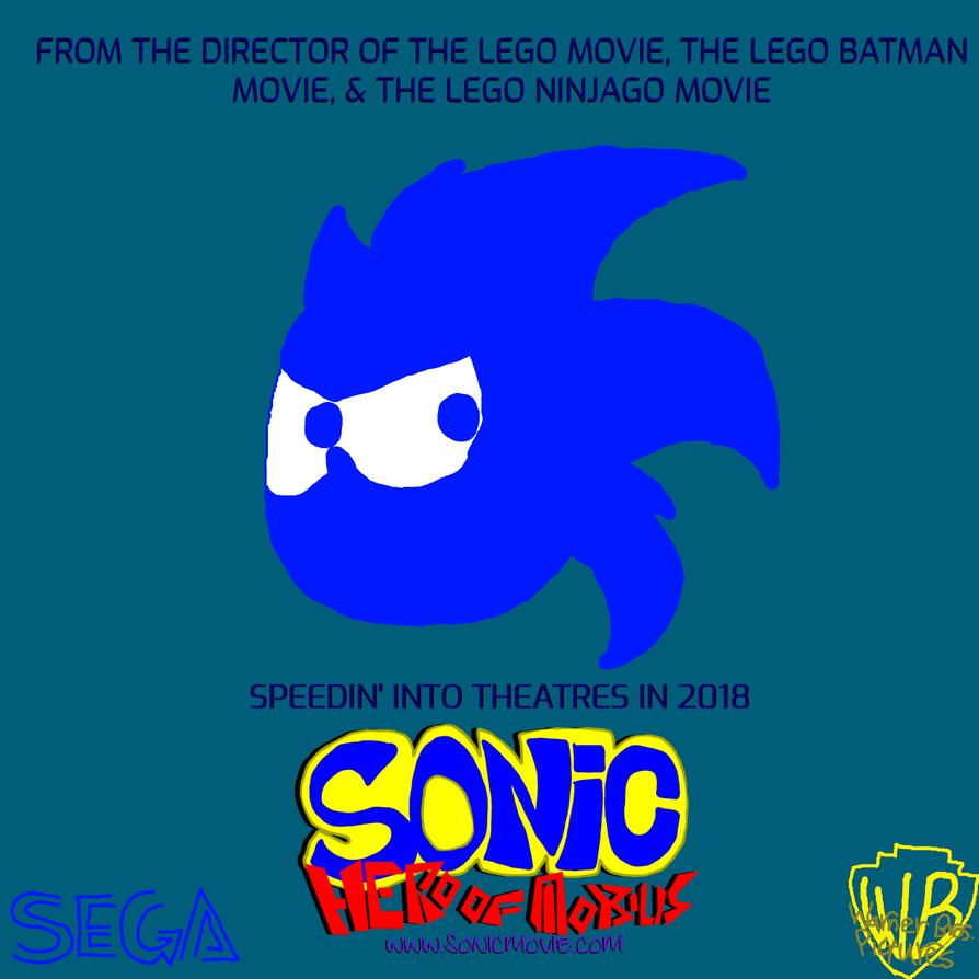 Sonic: Hero of Mobius (Movie Poster) by 3dmarioworld
